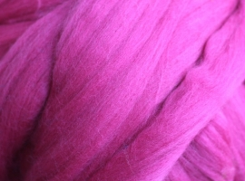 Merinowol (50 gram), felrose, kleurcode 126, 20-21 micron