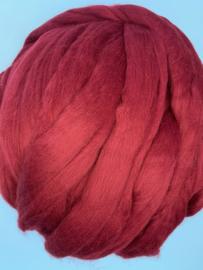 Merinowol (50 gram), robijn, kleurcode 362 extra fijn, 18,5 micron