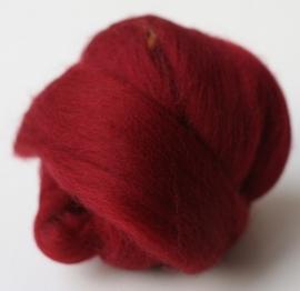 Merinowol (50 gram), kersen rood, kleurcode 247, 24-25 micron