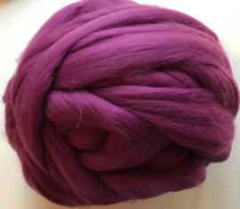 Merinowol (50 gram), purper, kleurcode 2845, 20-21 micron