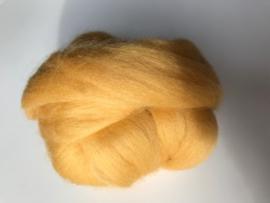 Merinowol (50 gram), honing geel, kleurcode 233, 24-25 micron