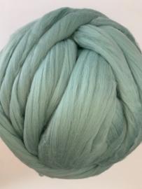 Merinowol (50 gram), zacht mint, kleurcode 377 extra fijn, 18,5 micron