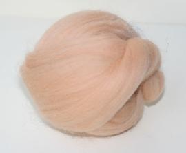 Merinowol (50 gram), huidskleur, kleurcode 168, 20-21 micron
