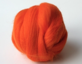 Merinowol (50 gram), oranje, kleurcode 240, 24-25 micron
