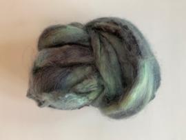 zijden lont, 3 gram, nummer 96 zee blauw spijker