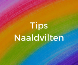 Video over naaldvilten, tips en armaturen