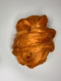 Vlas zacht oranje,10 gram