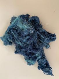 Zijde waste, 5 gram, blauw, nummer 78