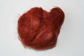 Vlas roestbruin, 60cm
