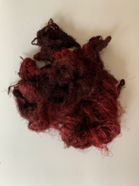 Zijde waste, 5 gram, rood , nummer 87