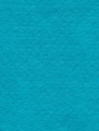 Naaldvlies 19,5 micron, turquoise kleur 60, 120 cm breed per 100 cm
