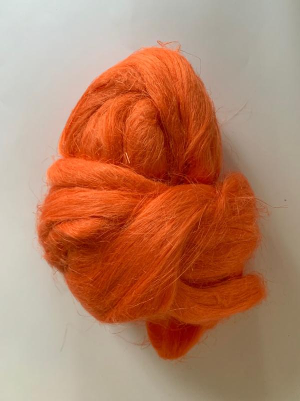 Vlas fel oranje,10 gram