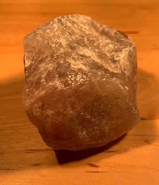 Rozen kwarts ruw, nummer 4, 85 gram