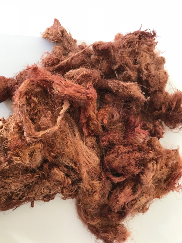 Zijde waste, 5 gram, nummer 27 bruin