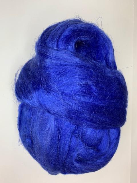 Vlas kobalt blauw, 10 gram