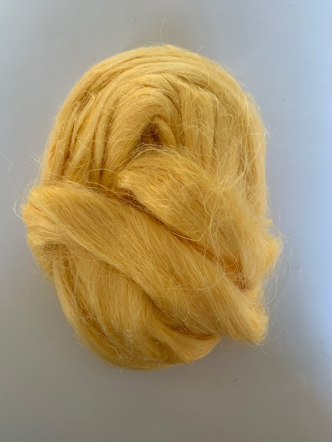 Vlas vanille geel, 10 gram