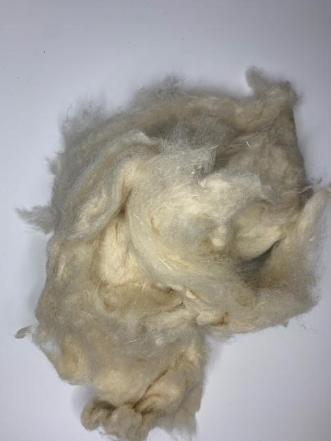 Sari zijde gekaard per 50 gram