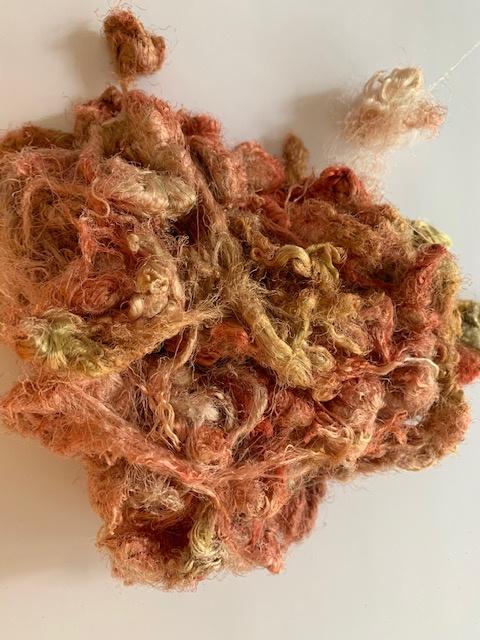 Zijde waste, 5 gram, oud rose tinten, nummer 46