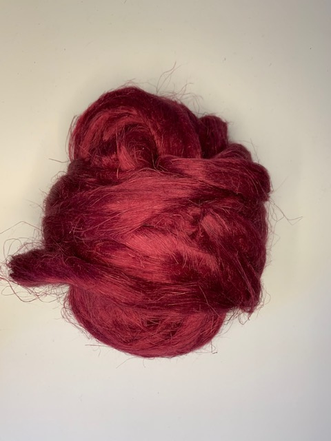 Vlas bordeaux, 10 gram
