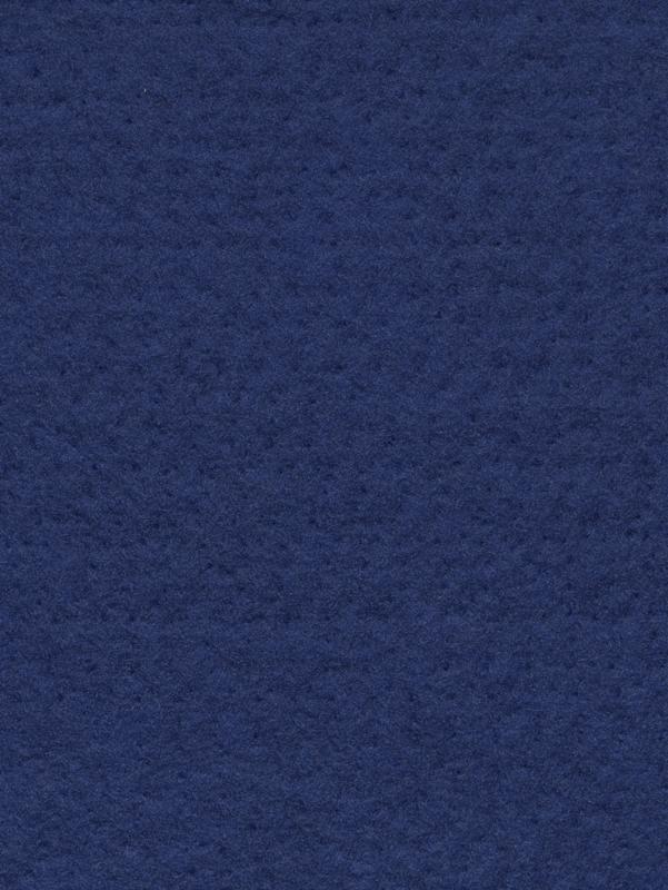 Naaldvlies 19,5 micron, donker blauw kleur 72, 120 cm breed per halve meter