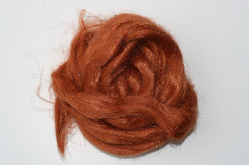 Vlas cognac, 60cm