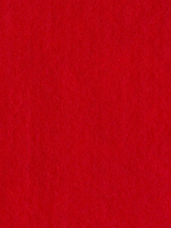 Naaldvlies 19,5 micron, rood kleur 36, 120 cm breed  per meter