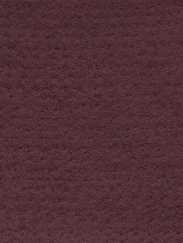 Naaldvlies 19,5 micron, wijn rood keur 30, 120 cm breed per 50 cm