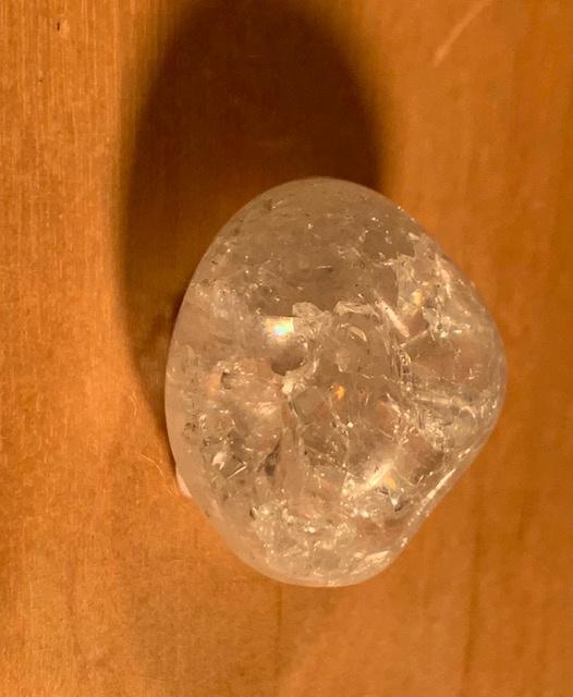 Fire and ice, ongeveer 1-2 cm +/- 8 gram, nummer 8