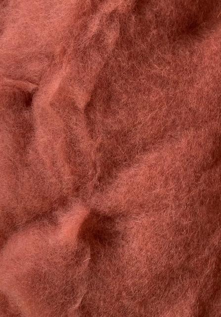 Bergschaap in vlies, rood bruin