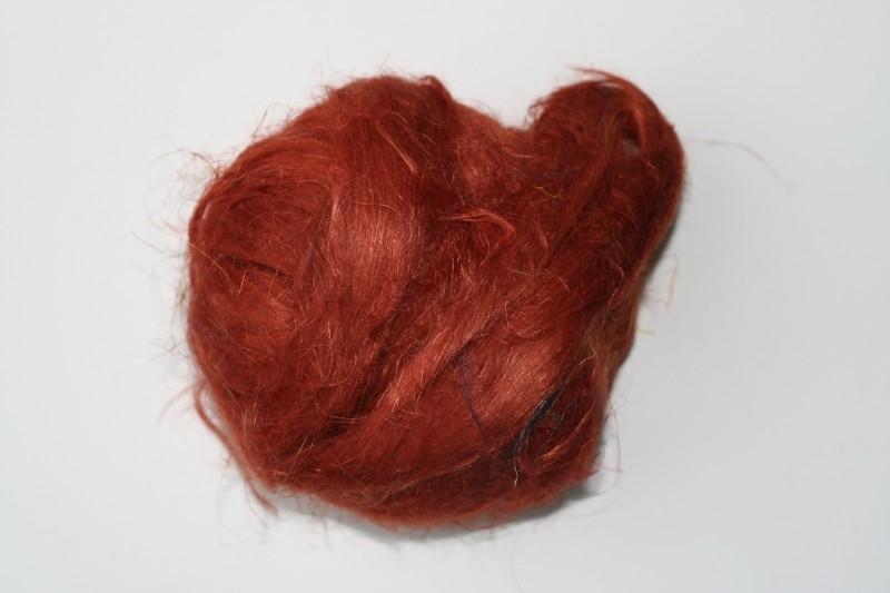 Vlas roestbruin, 10 gram