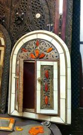 Marokkaanse spiegel beenderen 30CM