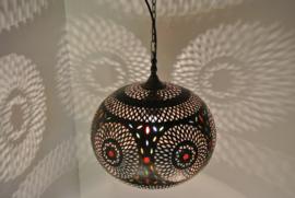 Koperen mamounia lampen