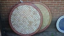 marokkaanse mozaiektafel 120cm 270€