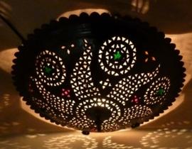 Marokkaanse lamp plafonaire metaal 45cm