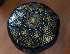 Tijdelijk uitverkocht Marokkaanse poef zimbala