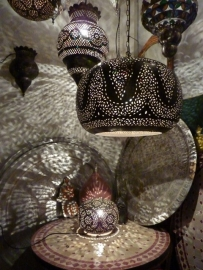 Verkocht op bestelling leverbaar Marokkaanse lamp Mamounia xxl tafellamp