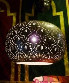 Marokkaanse lamp Bildi zilver