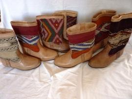 marokkaanse kelim laarzen 30% korting