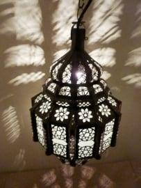 Marokkaanse lamp mashnou wit