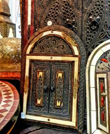 Marokkaanse spiegel beenderen