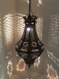 UITVERKOCHT Lamp Ajoep bruin of zilver
