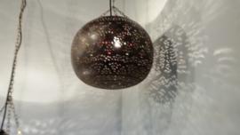 Ronde hanglamp mamounia koperen