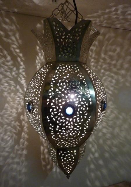 Super Marokkaanse lamp Sparcs zilver 30% korting | MAROKKAANSE LAMPEN EZ-76