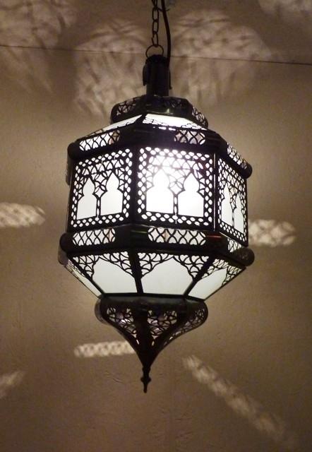 marokkaanse lamp Doha wit