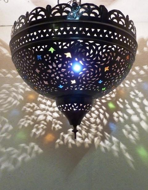 Verkocht marokkaanse lamp smiris..