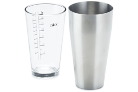 Zack BOSTON shaker CONTAS (mat) incl. GLAS