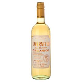 fles Tavernello trebbiano chardonnay bio  eko 75 cl