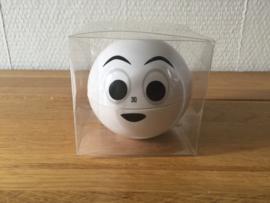 kookwekker vrolijk gezicht witte uitvoering