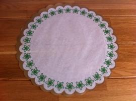 taart papier bedruk doorsnede 33 cm aantal 10 st