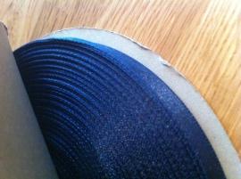 lint per rol 50 meter blauw